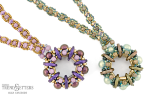 Olga-Haserodt-Windflower-Pendants-Detail-Pink-Green