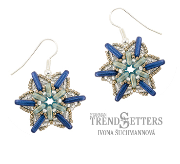Winter Sky Earrings TrendSetters Holiday Workshop 2017