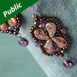 Paisley Duo Patterns Archives Bead Passion Studio